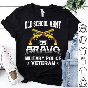 Old school army 95 bravo military police veteran shirt