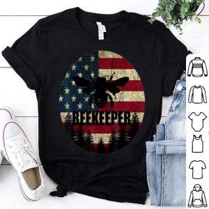 Patriotic Beekeeper American Flag 4th of july Vintage shirt