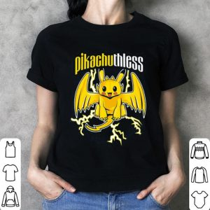 Pikachuthless Pikachu and Toothless shirt