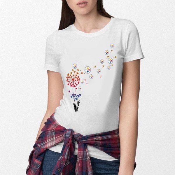 Pittsburgh Steelers dandelion flower shirt