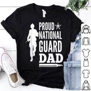 Proud National Guard Dad Father Day shirt