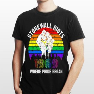 Rainbow Stonewall Riots 50th Nyc Gay Pride Lgbt shirt