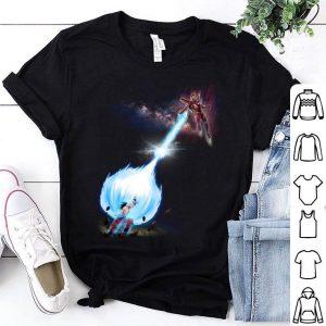 Son Goku Kamehameha Iron Man shirt