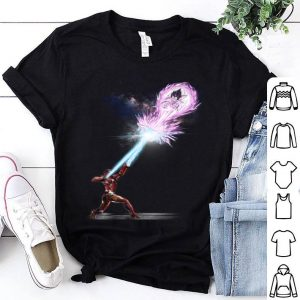 Vegeta Galick Gun Iron Man shirt