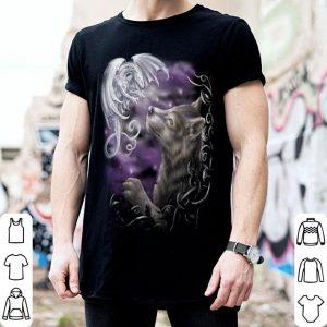 Wolf and dragon shirt