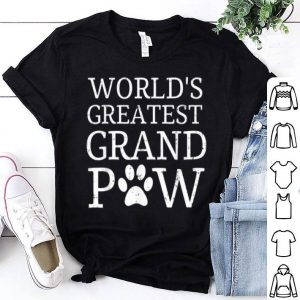 World's Greatest Grand Paw shirt