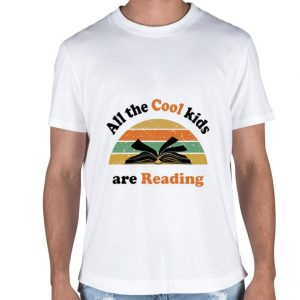 Book All the cool kids are reading vintage shirt