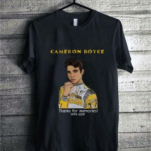 Cameron Boyce thank for memories 1999-2019 signature shirt