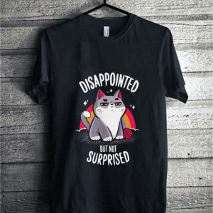 Cat disappointed but not surprised shirt sweater