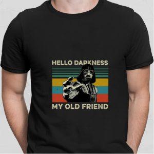 Darth Vader hello darkness my old friend vintage shirt