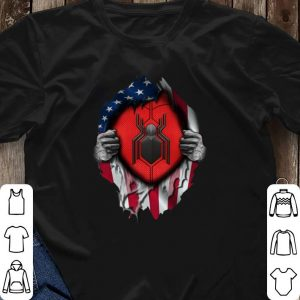 Far From Home American flag Spider Man shirt 2