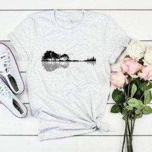 Nature Guitar Premium t shirt