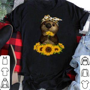 Otter sunflowers shirt sweater