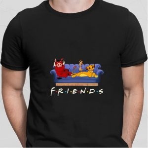 Simba Friends Timon Pumbaa The Lion King Disney shirt