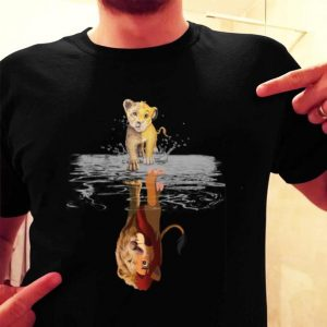 Simba Mirror Mufasa The Lion King 1994-2019 shirt