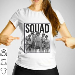 Squad Stranger Things 3 characters signatures shirt