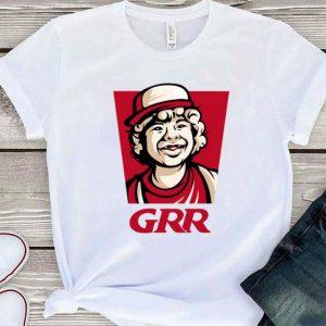 Stranger Things Dustin GRR Parody KFC logo shirt
