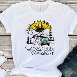 Sunflower Wander Woman camping shirt