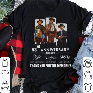 The Good the Bad and the Ugly 53rd anniversary signatures 53rd shirt