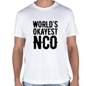 World's okayest NCO shirt sweater