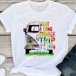 Hippie bus What a long strange trip it's been shirt sweater