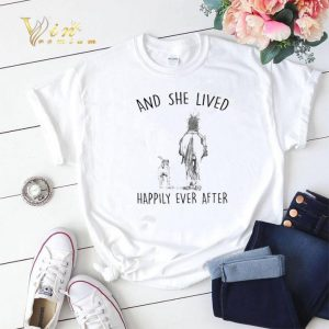 Horse and dog And she lived happily ever after Riding shirt