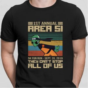 Naruto Alien 1st annual Area 51 they can't stop all of us shirt