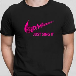 Nike Pink just sing it shirt sweater 1