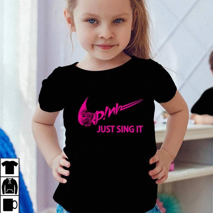 Nike Pink just sing it shirt sweater 4 - Nike Pink just sing it shirt sweater