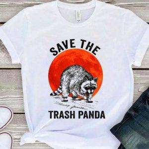 Raccoon Save the trash panda sunset shirt sweater