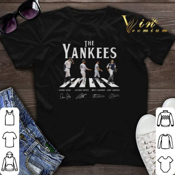 Signatures New York Yankees The Yankees Abbey Road shirt
