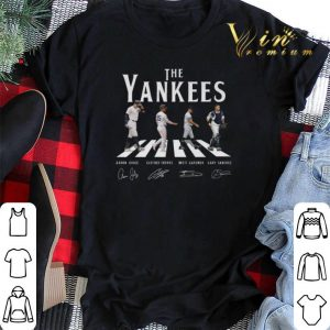 Signatures New York Yankees The Yankees Abbey Road shirt 1