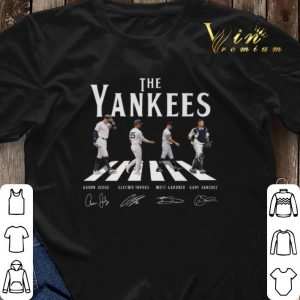 Signatures New York Yankees The Yankees Abbey Road shirt 2