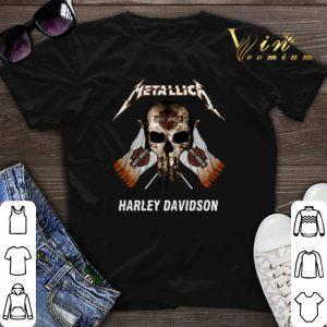 Skull Metallica Harley Davidson shirt sweater