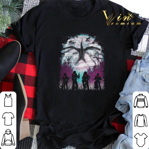 There's Something Stranger Things Demogorgon shirt sweater