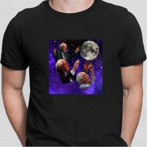 Three Bernie Sanders Moon shirt sweater 1