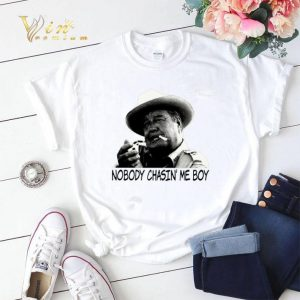 Buford T. Justice Nobody chasin' me boy shirt sweater