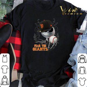 Fear The San Francisco Giants Jack Skellington shirt
