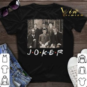 Friends TV Show Joker shirt