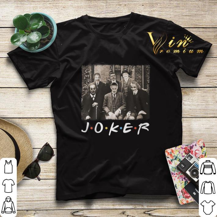 Friends TV Show Joker shirt 4 - Friends TV Show Joker shirt