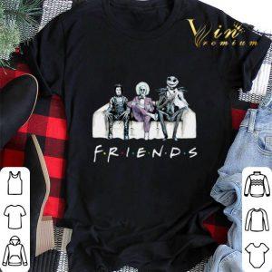 Friends tv show Beetlejuice Edward Scissorhands Jack Skellington shirt sweater