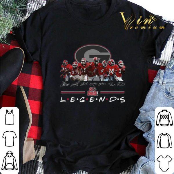 Georgia Bulldogs Signatures Go Dawgs Legends shirt sweater