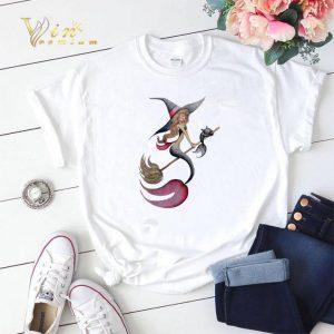Halloween Mermaid Witch shirt