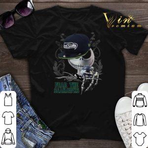 Jack Skellington Fear The Seahawks shirt sweater