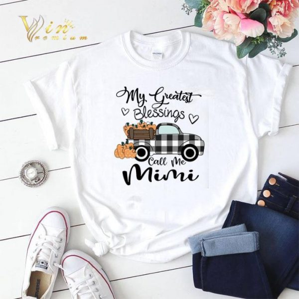 My Greatest Blessings call me Mimi shirt sweater