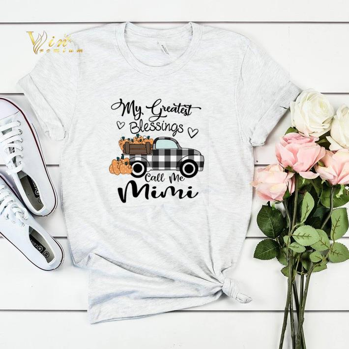 My Greatest Blessings call me Mimi shirt sweater 4 - My Greatest Blessings call me Mimi shirt sweater