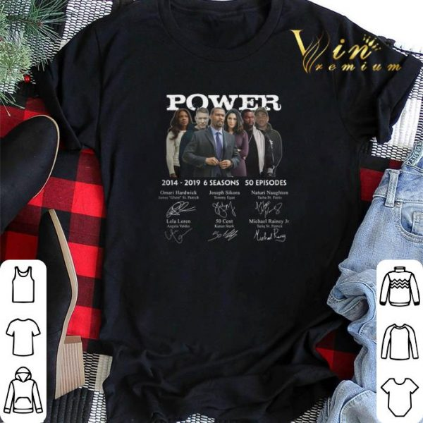 Signatures Power 2014-2019 6 seasons 50 episodes shirt