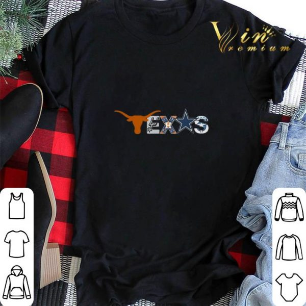 Texas Sport Teams Longhorns Austin Spurs Houston Astros Cowboys shirt sweater