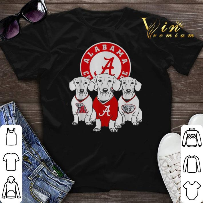 Alabama Crimson Tide Dog T-Shirt