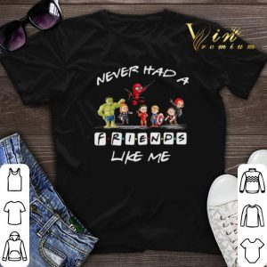 Avengers chibi never had a Friends like me shirt sweater